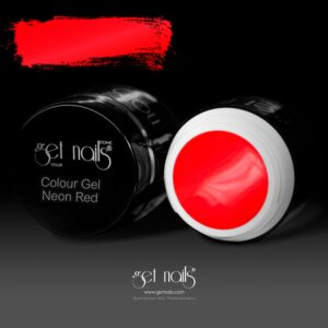 Colour Gel Neon Red 5g
