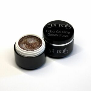 Colour Gel Glitter Golden Bronze 5g