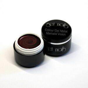 Colour Gel Metal Marsala Vision 5g