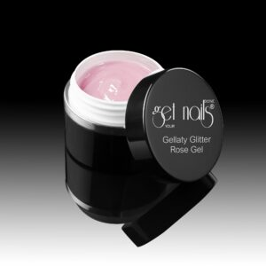 Gellaty Glitter Rose Gel 50g