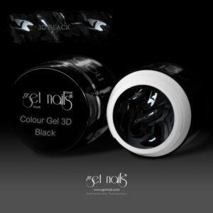 Colour Gel 3D Black 5g