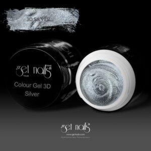 Colour Gel 3D Silver 5g