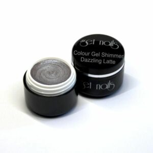 Colour Gel Shimmer Dazzling Latte 5g