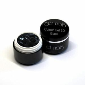 Colour Gel 3D Black 5g