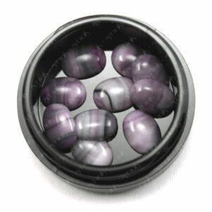 Marble Stones Grey Violet, 10 Stk.