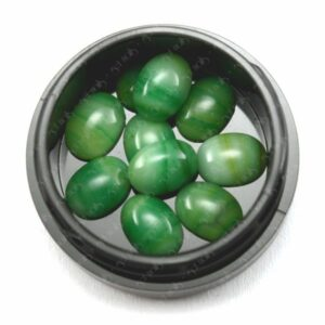 Marble Stones Green, 10 Stk.