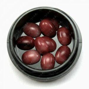 Marble Stones Red Brown, 10 Stk.