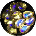 Crystal Bling Gold, 10 Stk.