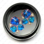 Einlegemotive Sapphire Cubes, 2 Stk.