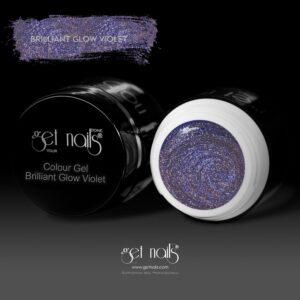 Colour Gel Brilliant Glow Violet 5g