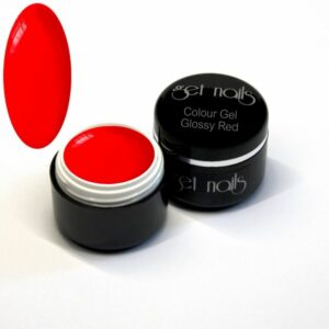 Colour Gel Glossy Red 5g