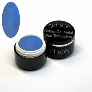 Colour Gel Metal Blue Temptation 5g