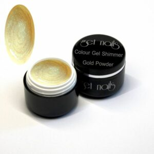 Colour Gel Shimmer Gold Powder 5g