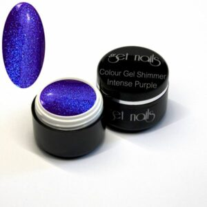 Colour Gel Shimmer Intense Purple 5g