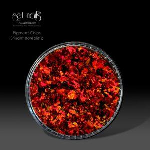 Pigment Chips Brilliant Borealis 2, 0,3g