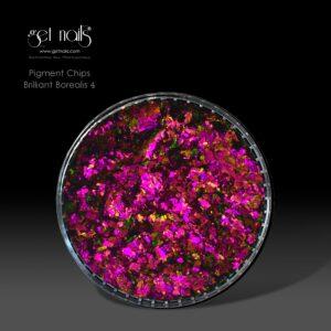 Pigment Chips Brilliant Borealis 4, 0,3g