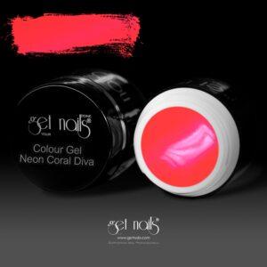 Colour Gel Neon Coral Diva 5g