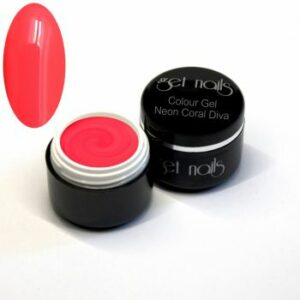 Colour Gel Neon Coral Diva 5g