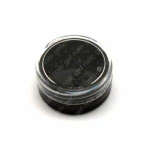 Perle Flach Black, 50 Stk.