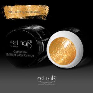 Colour Gel Brilliant Glow Orange 5g