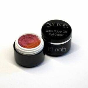 Colour Gel Glitter Red Copper 5g