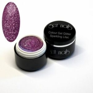 Colour Gel Glitter Sparkling Lilac 5g