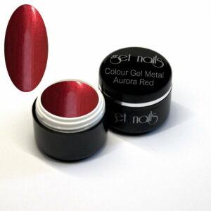 Colour Gel Metal Aurora Red 5g