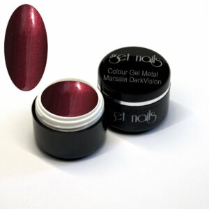 Colour Gel Metal Marsala DarkVision 5g