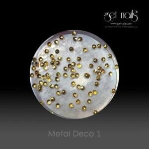 Metal Deco 1 Gold, 100 Stk.