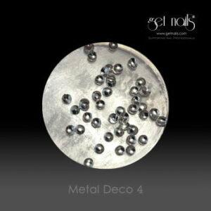 Metal Deco 4 Silver, 50 Stk.