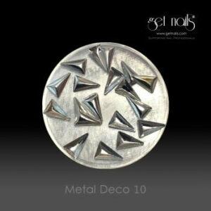 Metal Deco 10 Silver, 20 Stk.