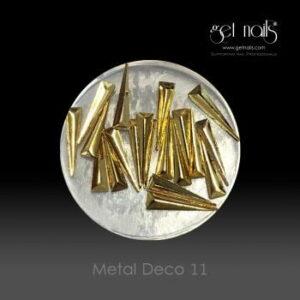 Metal Deco 11 Gold, 20 Stk.