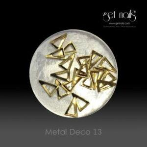 Metal Deco 13 Gold, 20 Stk.