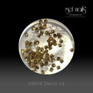 Metal Deco 14 Gold, 50 Stk.