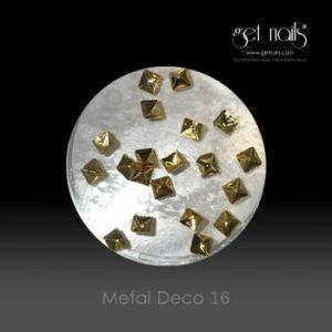 Metal Deco 16 Gold, 20 Stk.
