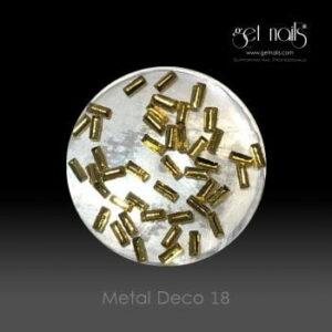 Metal Deco 18 Gold, 50 Stk.