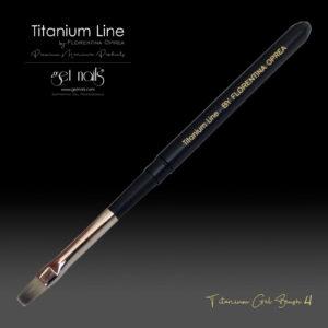 Titanium Gel Pinsel Nr. 4