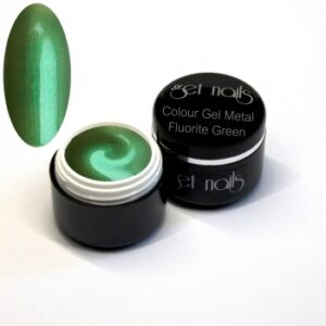 Colour Gel Metal Fluorite Green 5g