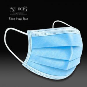 Mundschutz Blau, 10 Stück