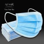 Mundschutz Blau, 50 Stück