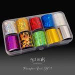 Transferfolienset 9 Splitter Mix