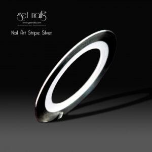 Nail Art Stripe Silver
