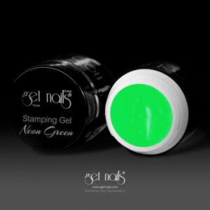 Stamping Gel Neon Green 5g