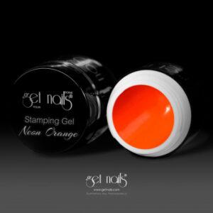 Stamping Gel Neon Orange 5g