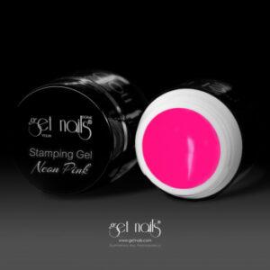 Stamping Gel Neon Pink 5g