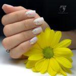 Girly Glitter Nails