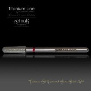 Titanium Bit Diamond Blunt Bullet Red