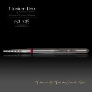 Titanium Bit Tornado Conical I Red
