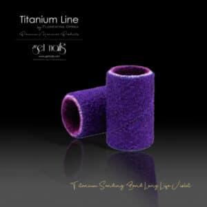 Titanium Sanding Band Long Life Violet #240, 100 Stk.
